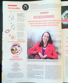 Finnish womens' magazine published a small article about in the beginning of May. Magazine, Movie Posters, House, Film Poster, Home, Haus, Magazines, Houses, Film Posters