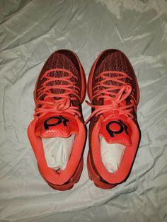 big sale 8e9ed aa19e Nike KD 8 VIII Bright Crimson 749375-610 Mens Basketball Shoes Size 12   fashion