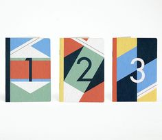 Carnets A6 The 3 Numbers
