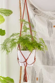 Leather Plant Hanger - Urban Outfitters