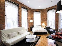 36 Creative Studio Apartment Design Ideas   Studio  Apartments and Studio  apartment36 Creative Studio Apartment Design Ideas   Studio  Apartments and  . Exposed Brick Studio Apartment New York. Home Design Ideas