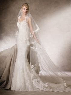La Sposa New HOZ Style 2017 Long Embroidered Tulle Bridal Dresses