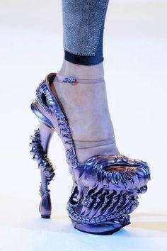 War as footwear....