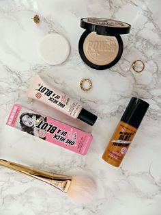 Soap & Glory One Heck of a Blot Primer, Foundation & Powder | Review | Jasmine Talks Beauty