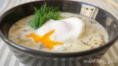 Kulajda – Traditional Czech Mushroom Soup Creamy Mushroom Soup, Creamy Mushrooms, Stuffed Mushrooms, Gordon Ramsey, Mushroom Recipes, Pickles, Mashed Potatoes, Fresh, Traditional