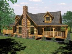 logcabin plans | Log Home Floor Plan, Log House Plans, Log Cabin Model Home