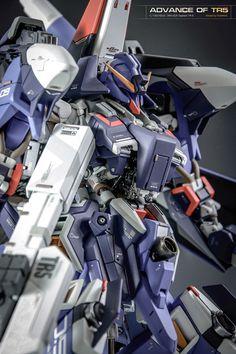 GUNDAM GUY: Advance of TR5: 1/144 HGUC ORX-005 Gaplant TR-5 - Customized Build
