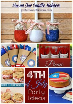 Great Ideas -- 20 Fourth of July Party Ideas! Tatertots and Jello