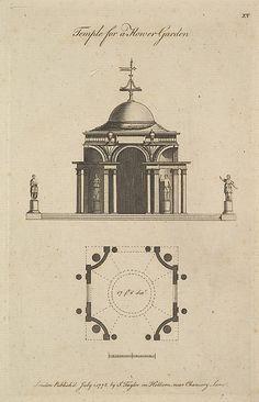 Temple for a Flower Garden 1778. Sir John Soane