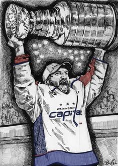 Alex Ovechkin, Stanley Cup, Art, Art Background, Kunst, Performing Arts, Art Education Resources, Artworks