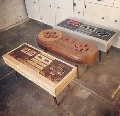 Why You'll Never Prosper at Diy Furniture Plans Wood Projects Nerd Room, Gamer Room, Game Room Decor, Room Setup, Furniture Plans, Cool Furniture, System Furniture, Geek Furniture, Wood Projects