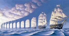 Rob Gonsalves is a master of illusion.