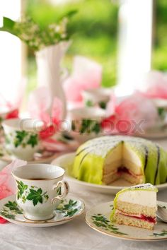 tea and cake, photography by Barbro Wickstrom
