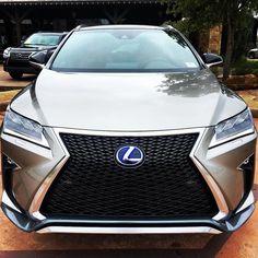 The Lexus RX Hybrid F SPORT.