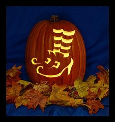 Items similar to Trick or Treat Smell My Feet C - Hand Carved on a Foam Pumpkin - Plug in light with Switch included. on Etsy Frozen Pumpkin Carving, Pumpkin Carving Party, Amazing Pumpkin Carving, Pumpkin Carving Patterns, Halloween Pumpkin Designs, Halloween Pumpkins, Halloween Crafts, Halloween Decorations, Fall Halloween