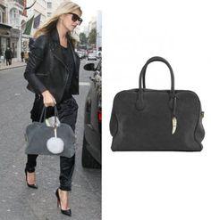 """Kate Moss et le sac \""""Pierre\"""" de Balmain"""