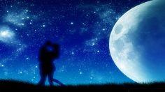 moon light romantic wallpaper