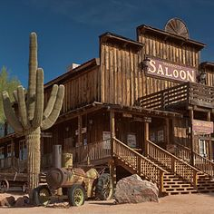 Goldfield Ghost Town, Apache Junction, AZ - Ghost Town Sites Worth a Visit - Sunset
