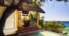 Beachfront Villa at Guanaja, Honduras