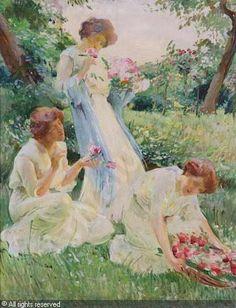 Franz Dvorak (1862 – 1927) – Pintor Austriaco _7