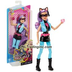 Barbie Spy Squad Series 12 Inch Doll - CAT BURGLAR (DHF18) with Cat Ears and Gem