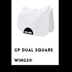GP Dual WINGS® saddle pad by HRP Equestrian. WINNER of 'BEST IN TEST' when compared to ALL other saddle pads! Horse and Rider Magazine 2017. Buy now: www.hrpequestrian.com