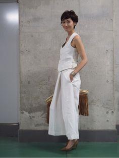 Maki's wardrobe ホワイトコーデ。 の画像|田丸麻紀オフィシャルブログ Powered by Ameba