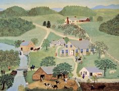 The Old Oaken Bucket GRANDMA MOSES (Anna Mary Robertson)