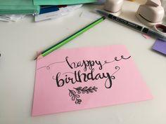 Kalligraphie ist Kunst! Wer gibt Workshops in Kiel und Hamburg? Wer ist dieser Schriftart auch so verfallen? Schreib mir! :-)