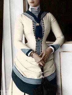 Vintage sailor suit, ca 1880s I believe
