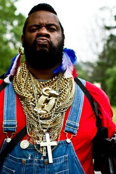incredible Mr. T Cosplay. Wish we knew the name of the  cosplayer.