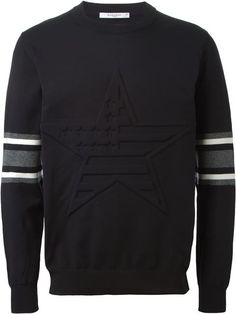 embossed sweatshirt