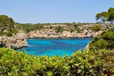 Cala S'almunia y Caló des Moro, Mallorca, Balearic Islands, Spain ✯ ωнιмѕу ѕαη∂у