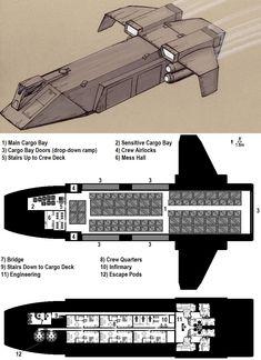 Dark Nova: Gockstadt Deckplans by ~Breandan-OCiarrai on deviantART