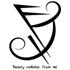"""""""Beauty radiates from me"""" sigil  requested by anonymous"""
