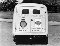 Bonox and Vegemite delivery van