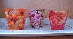 servetten op glas