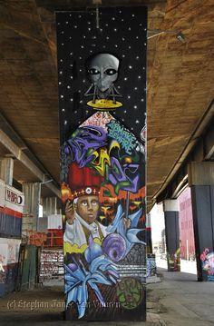Street Art in Newtown, Johannesburg