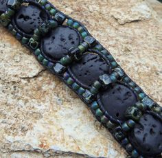 Homage to Eni Leather Bracelet Tutorial PDF - INSTANT Download