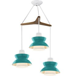 Astron Tri: Mid-Century Modern Chandelier - eclectic - chandeliers - by Rejuvenation Vintage Lighting, Modern Chandelier, Lamp, Eclectic Chandeliers, Modern Lighting, Cool Lighting, Mid Century Modern Chandelier, Lights, Modern