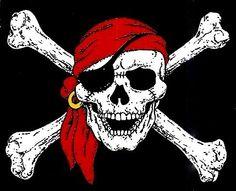 calaveras piratas - Buscar con Google