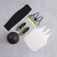 Simple All Nike Workout Outfit