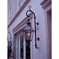 Traditional exterior gas lighting from Bevolo Gas & Electric
