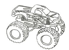 Monster Truck Coloring Sheets Beautiful Truck Drawing for Kids at Getdrawings Monster Truck Coloring Pages, Train Coloring Pages, Free Coloring Sheets, Coloring Pages For Boys, Coloring Pages To Print, Free Printable Coloring Pages, Coloring Books, Monster Truck Bed, Big Monster Trucks