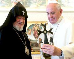 (Y van... ) Otra vez el Papa pide 'unidad del cristianismo'
