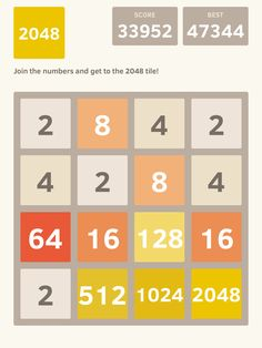 I scored 33952 points at 2048, a game where you join numbers to score high! @2048_game https://itunes.apple.com/app/2048/id840919914