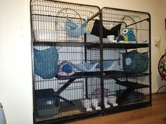 Big ferret cage. Two cages combinated.