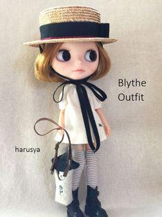 *Blythe outfit・カンカン帽子・洋服set * - ヤフオク!