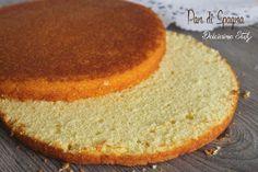 Pan di Spagna ...ricetta base,base di pasticceria,ricetta dolce,impasto base per torte golose,ricetta senza lievito... Il Pan di Spagna è una ricetta base