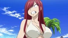 Erza Scarlet Fairy Tail 2018 ep 9 by Berg-anime on DeviantArt Fairy Tail Girls, Fairy Tail Lucy, Fairy Tail Nalu, Fairy Tail Couples, Fairy Tail Ships, Fairy Tail Characters, Anime Characters, Chica Anime Manga, Kawaii Anime